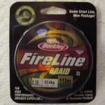 Леска плетеная Berkley fireline braid. Характеристики.