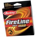 Леска плетеная Berkley fireline braid tracer. Характеристики.